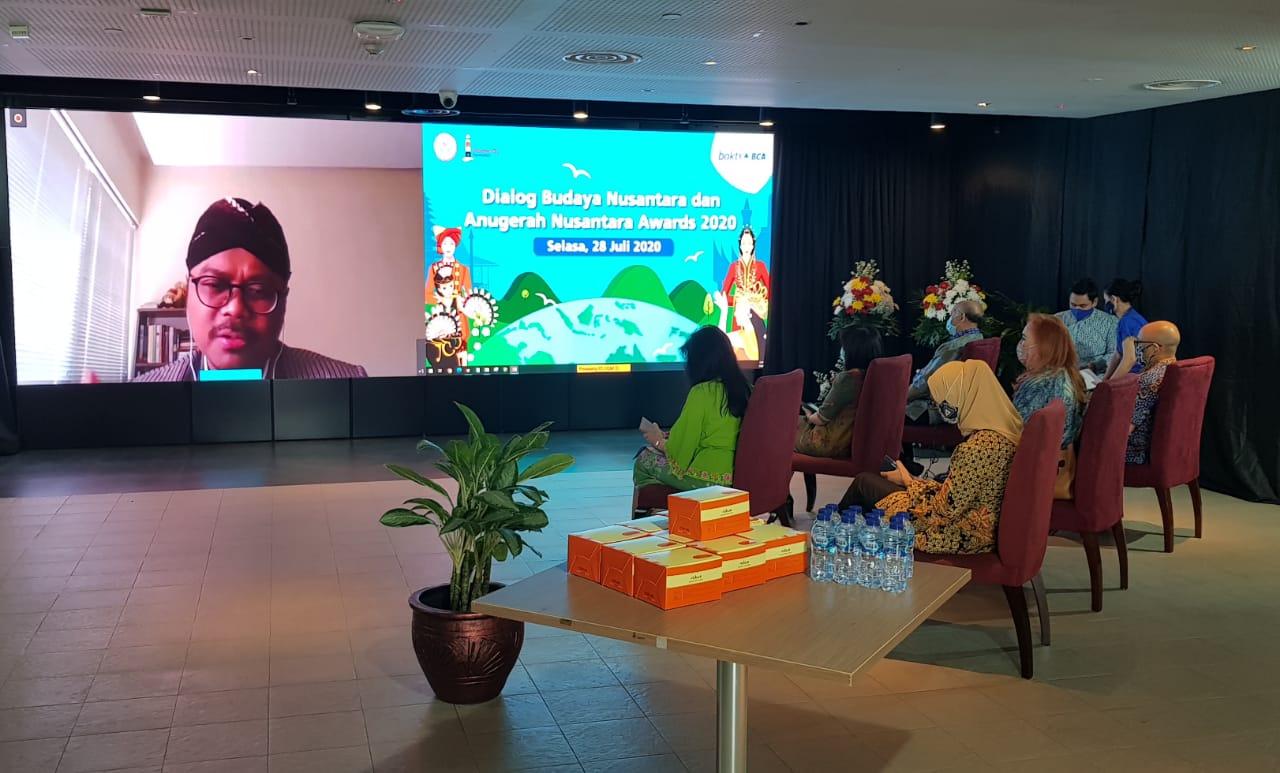 """Kerjasama BCA dan Nusantara Institute & Nusantara Kita Foundation Gelar """"Dialog Budaya Nusantara dan Anugerah Nusantara Award 2020"""""""