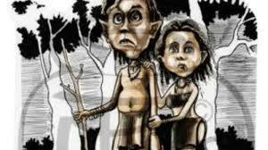 Ilustrasi Suku Mante
