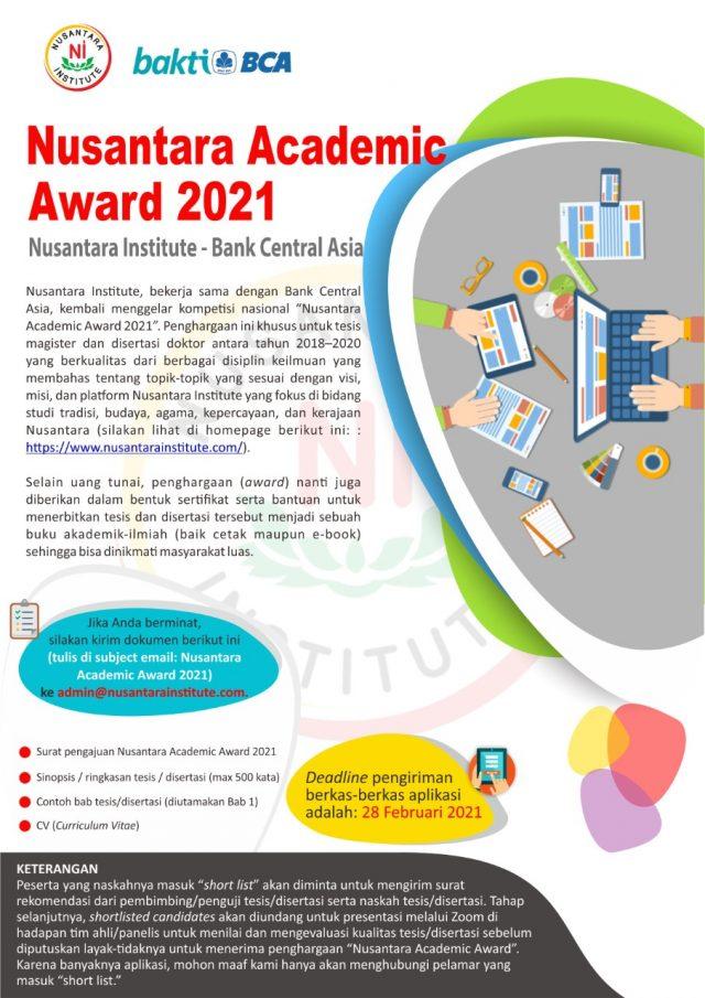Nusantara Academic Award 2021